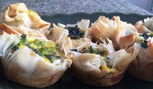 Spinach Broccoli Pastry